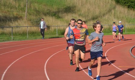 Coburg Harriers track